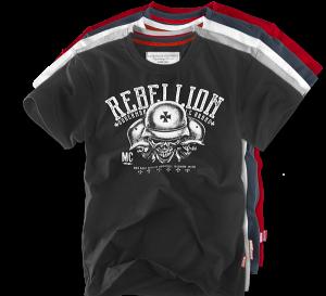 "Tričko ""Rebellion MC 2"""