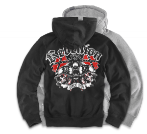 "Mikina,zip ""Rebellion"""